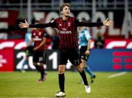 Manuel Locatelli es el nuevo objetivo del club 'viola'. AFP