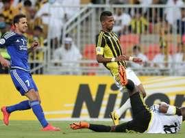 El Al-Nasr fue descalificado de la Champions asiática. AFP