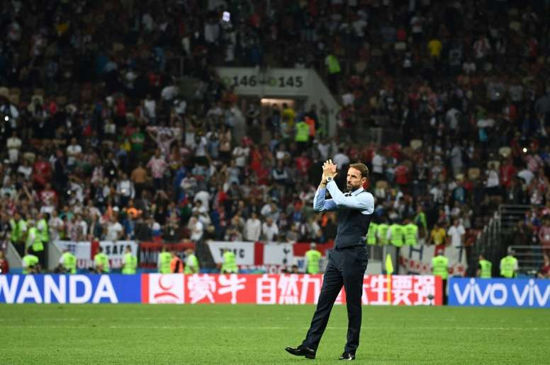 Southgate's side are out for revenge. AFP