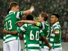 El conjunto lisboeta se acerca al liderato que posee el Benfica. AFP