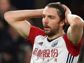 Leicester are one of many teams looking to sign Jay Rodriguez. AFP