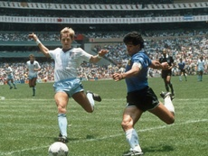 Diego Maradona is remembered for his Hand of God. AFP