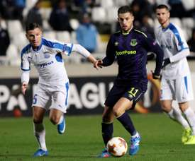 Kevin Mirallas is not in Marco Silva's plans. AFP