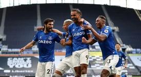Everton deve abrir vagas no grupo. AFP