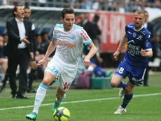 Thauvin's late goal keeps Maseille level with Lyon. AFP