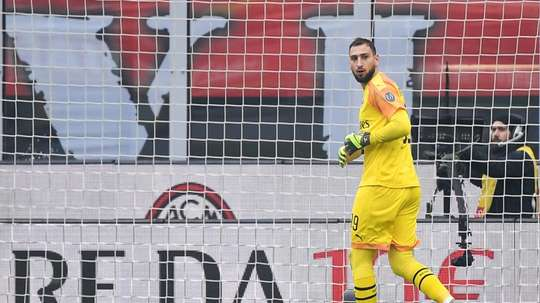 Donnarumma, 21, has played over 200 games for Milan. AFP