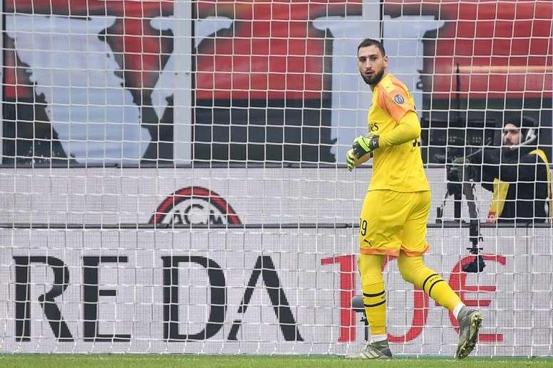 Donnarumma renovará con el Milan. AFP