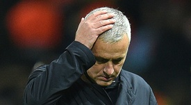 Aún se acuerdan de Mourinho en el Manchester United. AFP