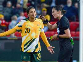 Chelsea win battle to sign Australian women's football icon Kerr. AFP
