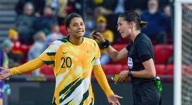 Chelsea win battle to sign Australian women's football icon Kerr. AFP