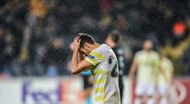 Desastroso Fenerbahçe. AFP