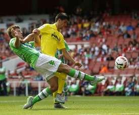 Knoche continuará en el Wolfsburgo. AFP