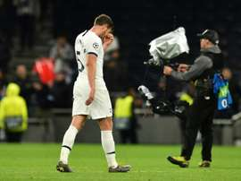 Vertonghen ashamed by Spurs capitulation against Bayern. AFP