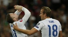 Rooney évoque son record de sélection. AFP