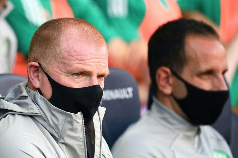 Ben Davies suena como posible refuerzo del Celtic. AFP/Archivo