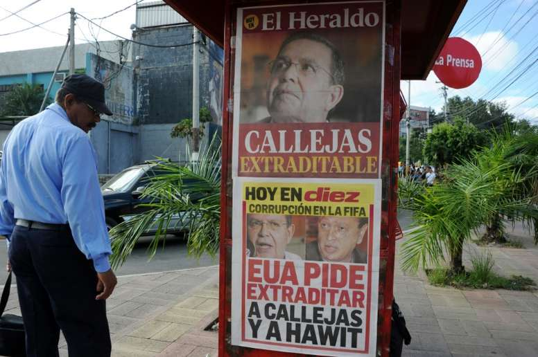 Fifagate: Ex-vice president Hawit allowed to return to Honduras. AFP