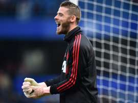 De Gea contract at top of Mourinho's Man Utd in-tray.