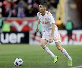 Le joueur plait beaucoup en Premier League. AFP