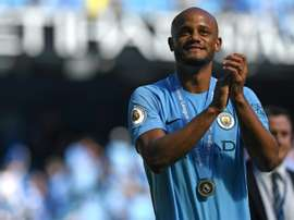 Vincent Kompany Manchester City. AFP