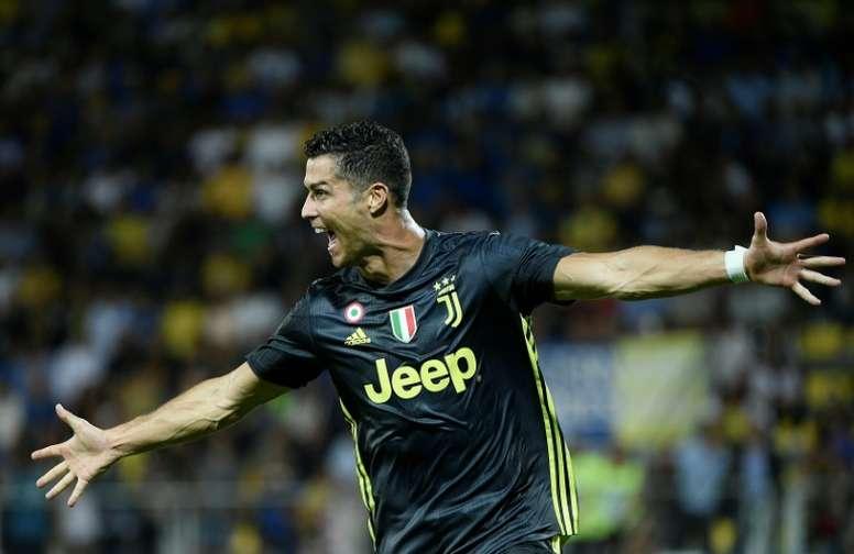 Ronaldo a félicité son ancien coéquipier. AFP