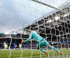 Begovic dejará el Chelsea y el equipo 'blue' le busca un sustituto. AFP