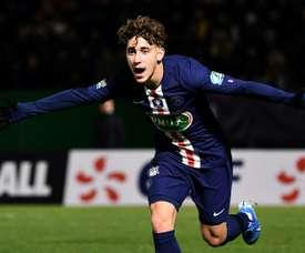 Aouchiche has signed for Saint-Étienne. AFP