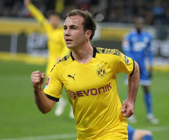 Mario Gotze cannot play for Dortmund this Saturday due to his hospital visits. AFP