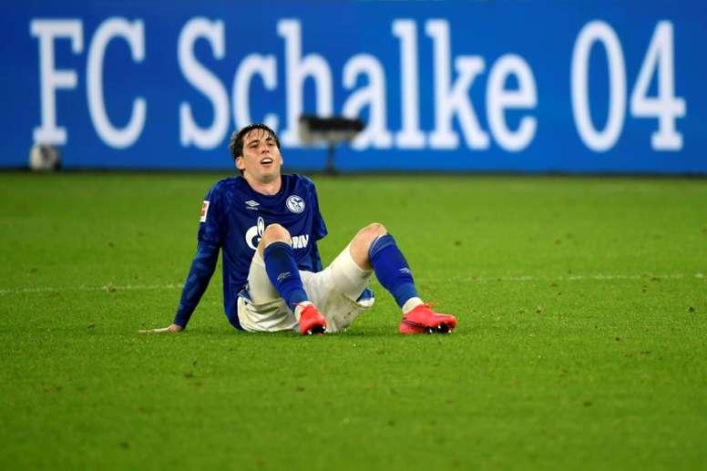 Schalke 04 enfrenta grave situação econômica. AFP