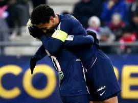PSG are in the final. AFP