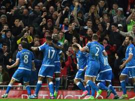 El Bournemouth ha logrado un triunfo vital ante el Middlesbrough. AFP