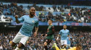 Sterling is doing well and the club appreciates it. AFP/Archivo