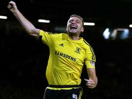 Ben Gibson is Middlesbrough's prize asset. AFP