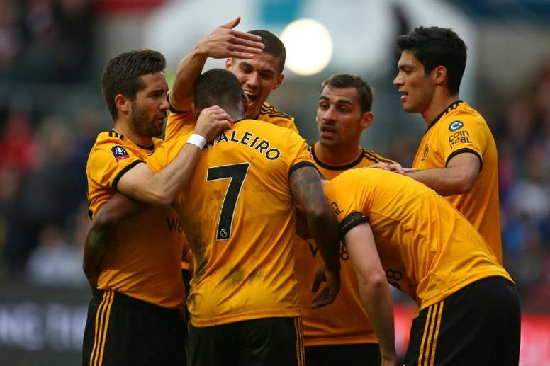 Ivan Cavaleiro scored the only goal of the game away to Bristol City. AFP