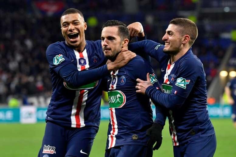 El Le Havre, primer rival del PSG 2020-21. AFP