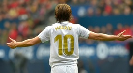 Luka Modric spoke about his old club. AFP