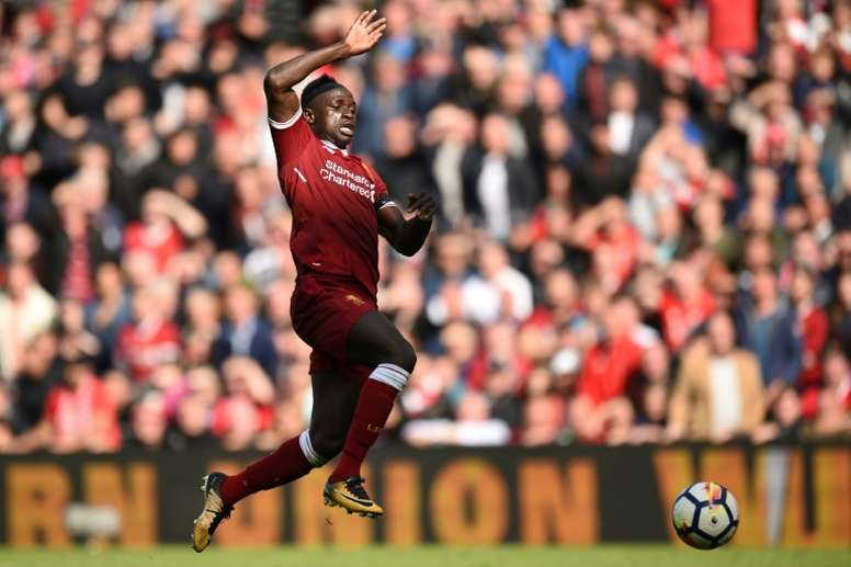 Liverpool's Mane out for six weeks with hamstring injury. AFP
