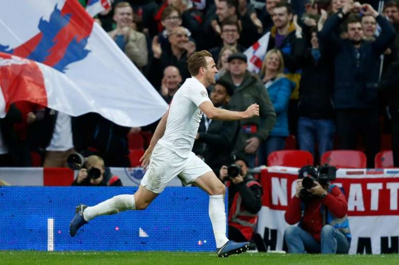 Southgate to call Kane up to England duties. AFP