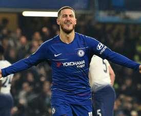 Chelsea demande 150 millions d'euros pour Hazard. AFP