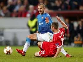 El Arsenal cayó derrotado por 1-0 ante el Köln. AFP