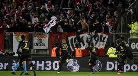 El Mónaco ganó ante el Amiens. AFP