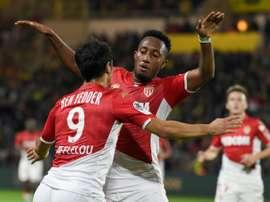 Monaco's Ben Yedder ends Nantes' perfect home run. AFP