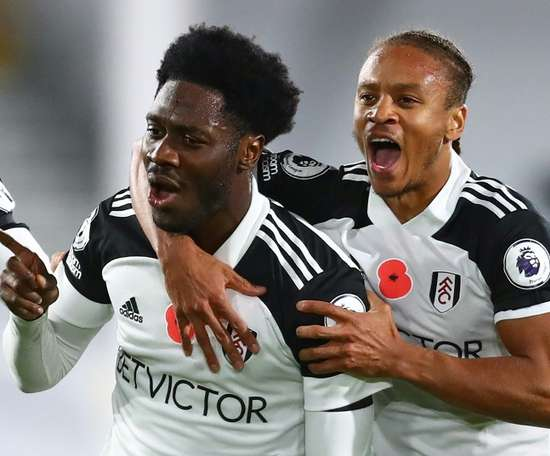 Fulham won 2-0. AFP