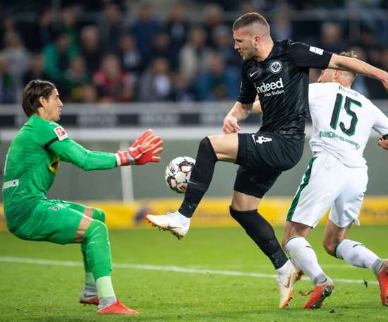 Rebic could find himself in the Premier League. AFP