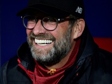 Klopp became the first Liverpool manager to win the top flight for 30 years. AFP