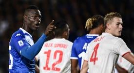 Le dérapage raciste du président de Brescia sur Balotelli. AFP
