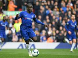 Deschamps confirms Kante will play. AFP
