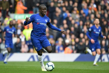 Kante has left Japan early due to injury. AFP