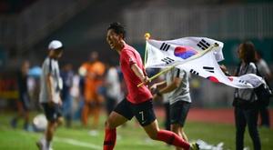 Son habló sobre Corea del Sur, Pochettino y su ídolo. AFP