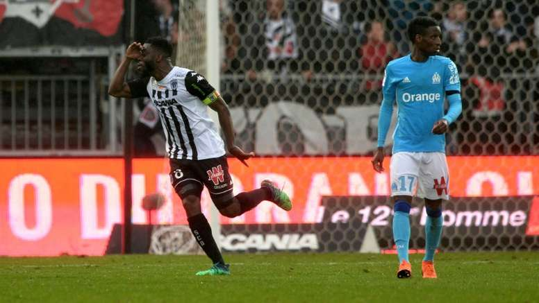 Traore equalised with ten minutes to go. AFP