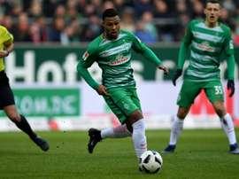 O atacante de 21 anos foi um dos destaques da Bundesliga 2016/17. AFP